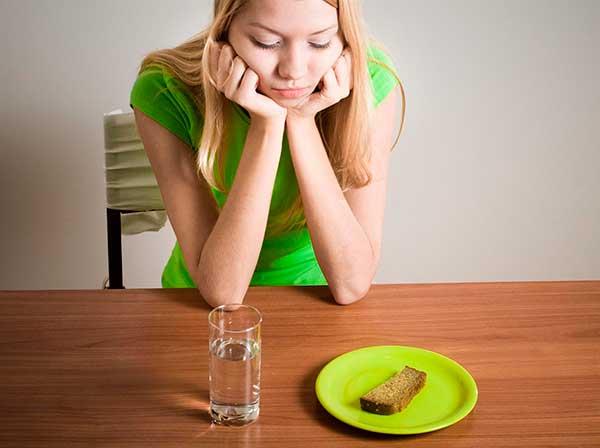 Анорексия, симптомы, первые признаки, лечение