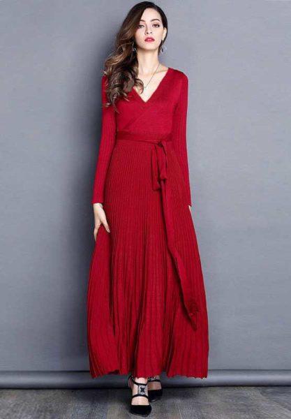 Стильные женские платья на осень 2018