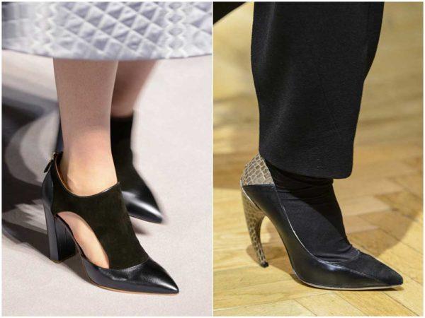Модная обувь осени 2018/2019, новые тенденции