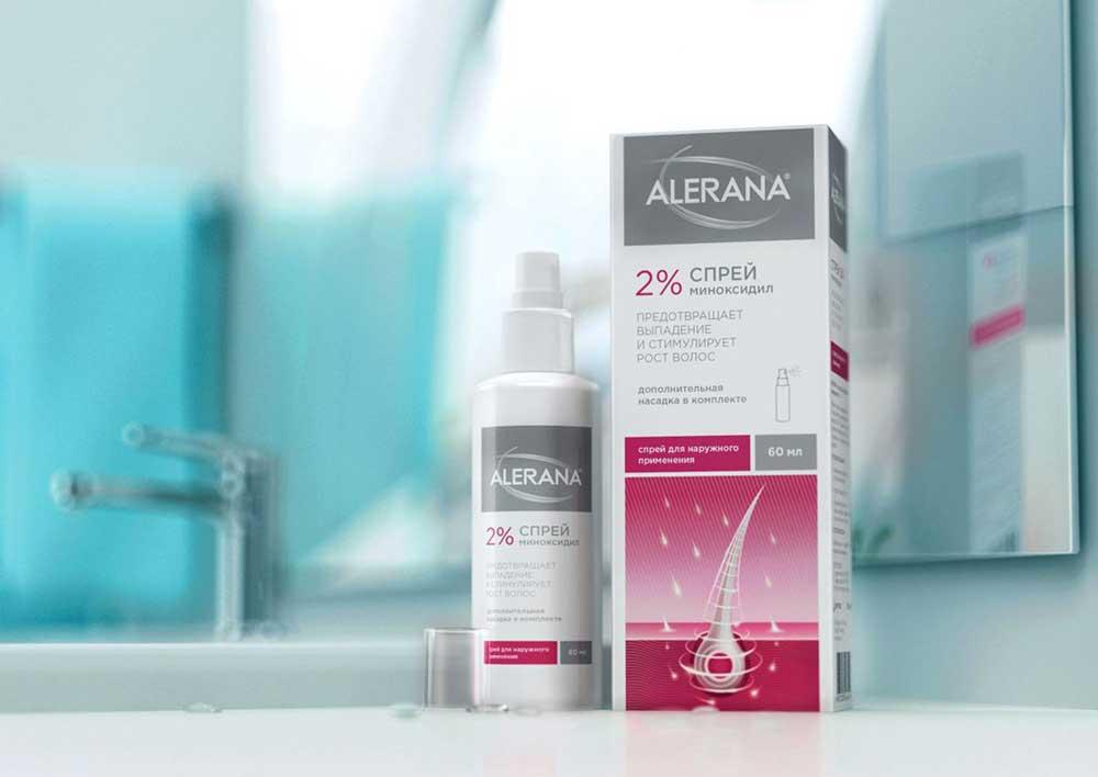 Алерана спрей против выпадения волос 5% инструкция, отзывы
