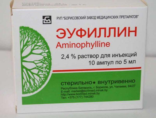 Эуфиллин в ампулах