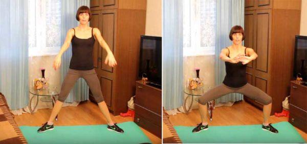 Упражнения против целлюлита на ягодицах и бедрах на 15 минут дома