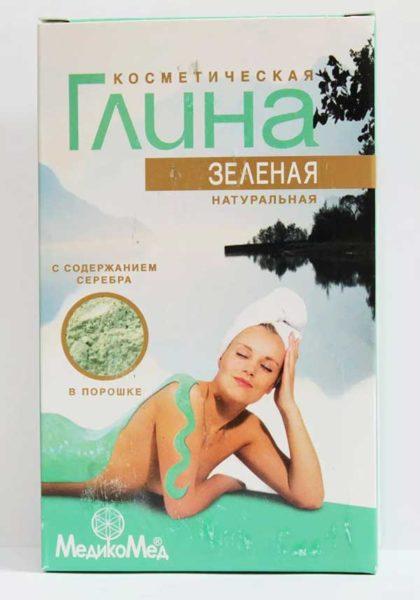 Зеленая глина для похудения