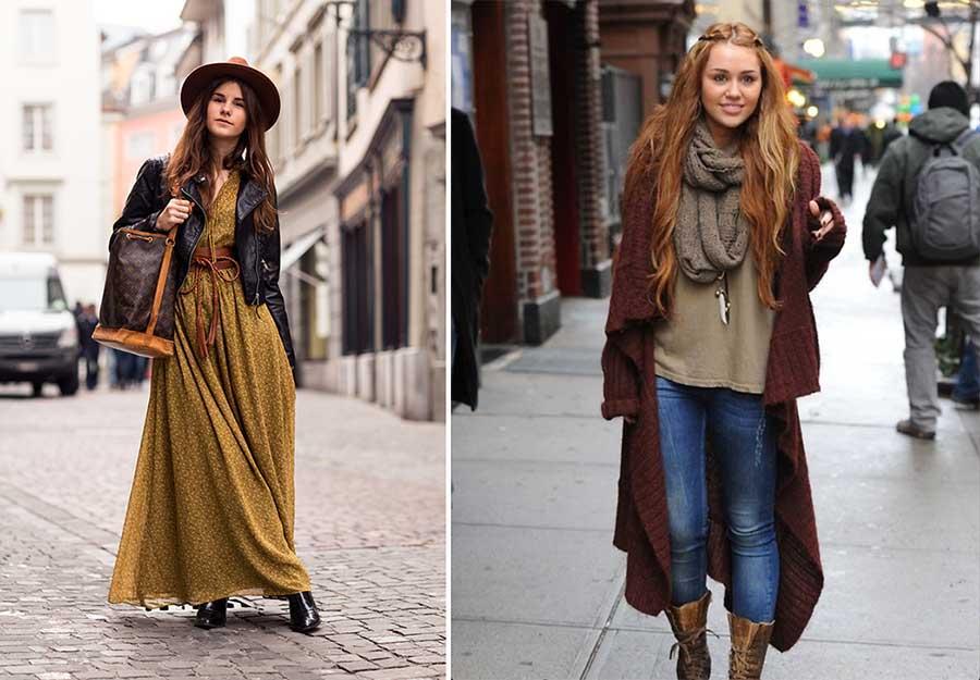 Модницы: бохо против грандж